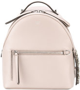 Fendi mini backpack - women - Leather/Crystal - One Size