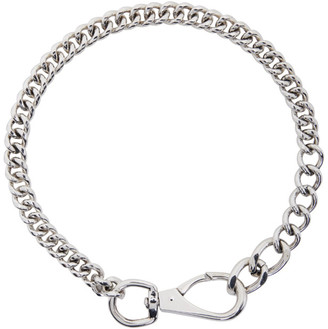 Martine Ali SSENSE Exclusive Casey Curb Chain Necklace
