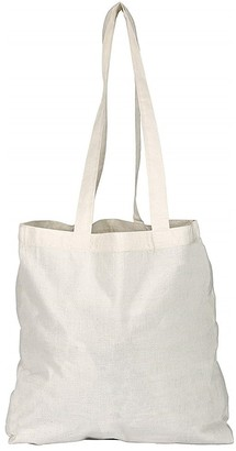 eBuyGB Pack of 50 Cotton Shopper Canvas & Beach Tote Bag