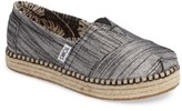 Toms Girl's Platform Espadrille Slip-On