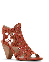 Vince Camuto Eadon Leather Perforated Sandals