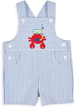 Florence Eiseman Baby Boy's Scuba Crab Seersucker Overalls