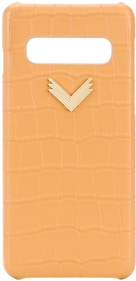 Samsung x Velante logo-plaque S10 phone case