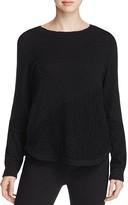 XCVI Sofia Crochet Inset Sweater