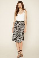 Forever 21 FOREVER 21+ Contemporary Abstract Skirt