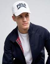 Polo Ralph Lauren Baseball Cap Polo Embroid Logo In White