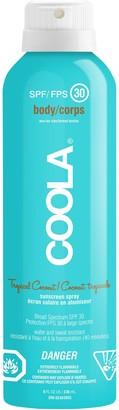 Coola SPF 30 Sunscreen Spray Tropical Coconut
