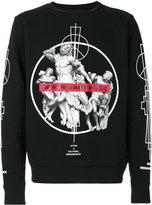 Marcelo Burlon County of Milan Fainu Cotton Crewneck Sweater
