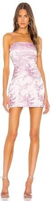 superdown Letizia Printed Mini Dress