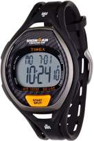 Timex Men's T5K3359J Ironman Sleek 50-Lap Black Resin Strap Watch