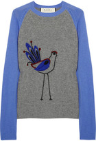 Marni Embroidered wool and cashmere sweater