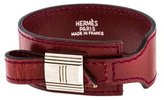 Hermes Leather Wrap Bracelet