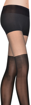 DKNY Lowrise Over The Knee Illusion Sheer Tight
