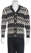 Marc Jacobs Intarsia Knit Cardigan