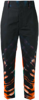 Sofie D'hoore printed cropped trousers - women - Cotton - 36