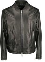 Dsquared2 Caban Leather Jacket