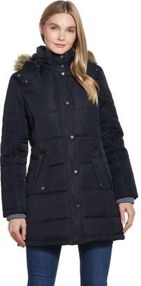 Weatherproof Hooded Shaped Puffer Jacket