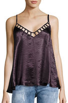 Free People Haze Metallic Tank Top
