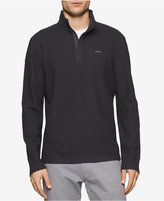 Calvin Klein Men's Quarter-Zip Pullover Sweater