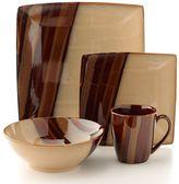 Avanti Sango brown 16-pc. dinnerware set