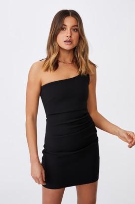 Supre Evelyn One-Shoulder Ponte Dress