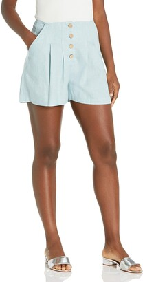 BCBGeneration Women's Button Front Short