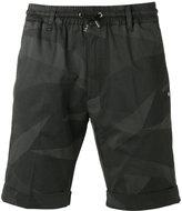 Hydrogen camouflage print shorts