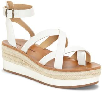 Lucky Brand Janika Platform Wedge Sandal