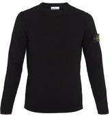 Stone Island Wool-blend Crew-neck Sweater