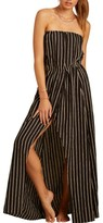 Women's Love Like Summer X Billabong Strapless Faux Wrap Maxi Dress