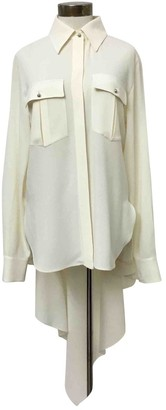 Chanel White Silk Top for Women