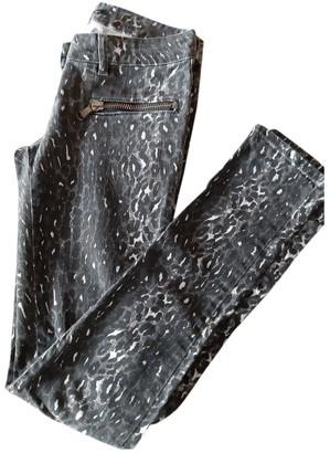 Patrizia Pepe Grey Cotton Jeans for Women