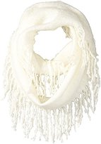 Jessica Simpson Women's Boucle Fringed Eternity Scarf