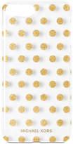 MICHAEL Michael Kors iPhone 7 Plus Letters Dot Electronic Phone Case