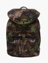 Valentino Khaki Camustar Nylon Backpack