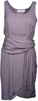 Christian Dior Khaki Silk Dresses