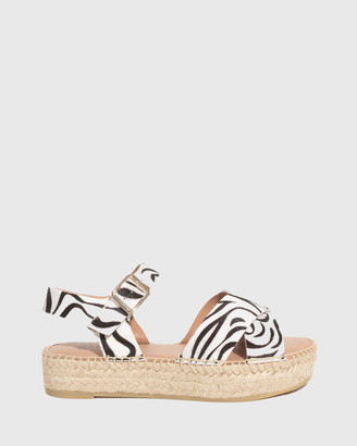 Wittner - Women's Multi Sandals - Ugata Leather Espadrille Flatform Sandals - Size One Size, 37 at The Iconic