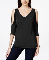 INC International Concepts Cold-Shoulder Top, Created for Macy's