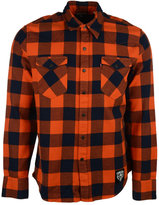 Levi's Men's Chicago Bears Plaid Button-Up Shirt