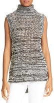 Derek Lam 10 Crosby Women's 10 Crosby Derek Lam Cotton Sleeveless Turtleneck