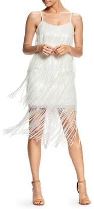 Dress the Population Roxy Sequin Fringe Dress