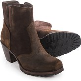 Woolrich Kiva Western Ankle Boots - Leather (For Women)