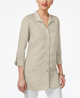 JM Collection Wing-Collar Roll-Tab Shirt, Only at Macy's