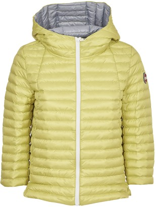 Colmar Yellow Down Jacket With Hood