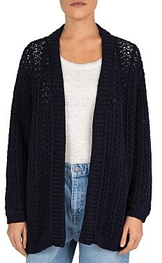 Gerard Darel Eudemia Combed Cotton Knit Cardigan