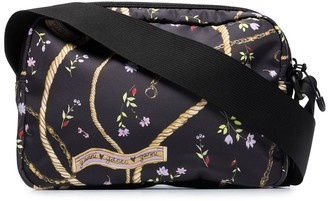 Ganni x Browns 50 floral-print crossbody bag