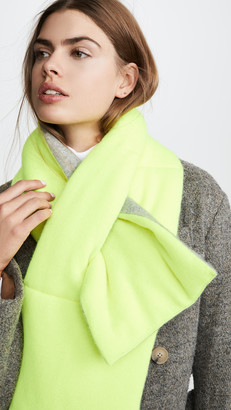 White + Warren Padded Cashmere Scarf