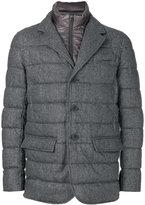 Herno padded double layer blazer - men - Polyamide/Polyester/Virgin Wool - 46