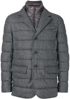 Herno padded double layer blazer - men - Polyamide/Polyester/Virgin Wool - 50