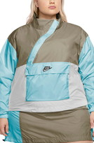 Nike Sportswear Icon Clash Colorblock Anorak Plus Size (2 colors)